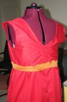 Red Dress - back